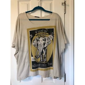 Urban Outfitters Elephant Tee